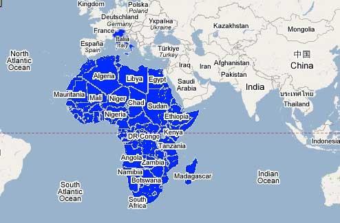Kaontinanta Vaovao Afrika